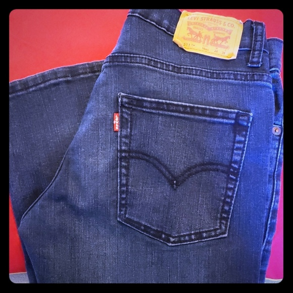 Levi's Other - Levi's 511 Slim boy blue jeans sz 16 reg.